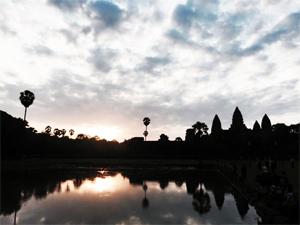 カンボジア風景