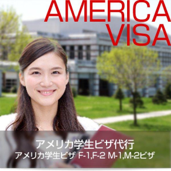 画像1: アメリカ学生ビザ F-1 F-2 ビザ申請代行 (1)