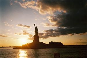 ニューヨークリバティ島