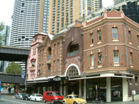 オーストラリア市街風景